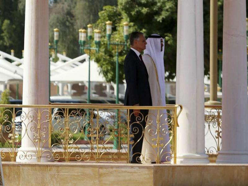 Cavaco Silva em Abu Dhabi [Lusa]