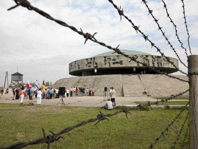 Campo de concentração em Majdanek (Reuters)