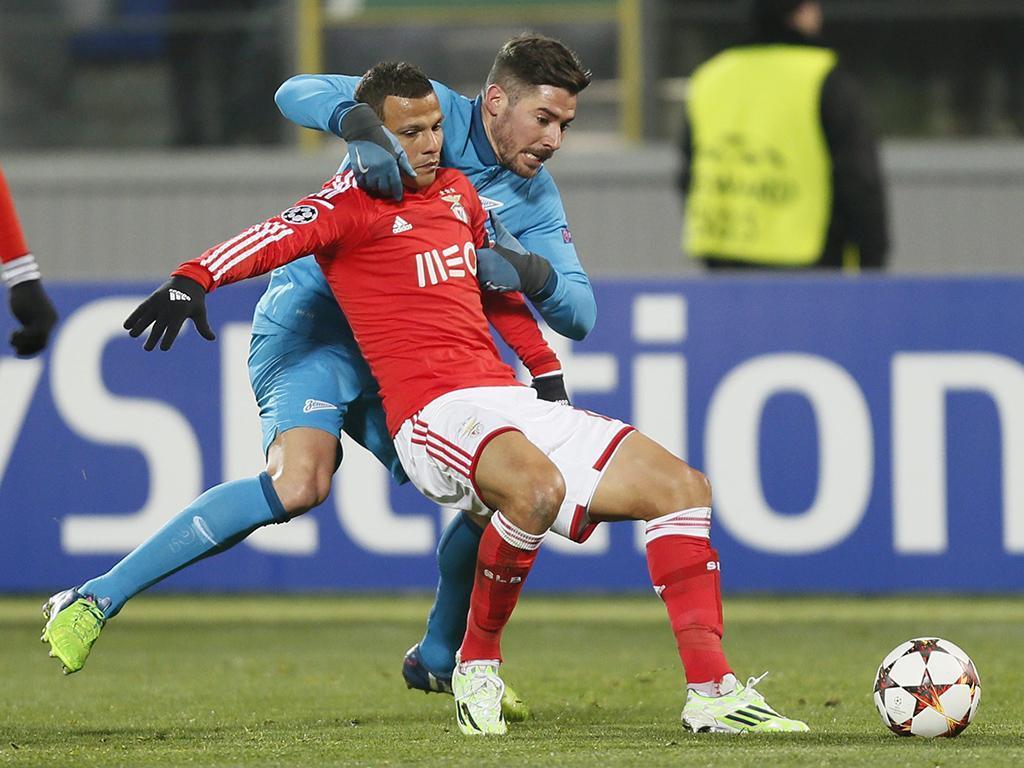 Zenit-Benfica (EPA/Yury Kochetkov)