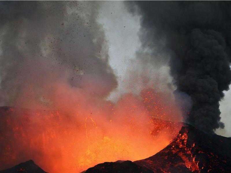 Erupção do vulcão de Cabo Verde (Lusa)