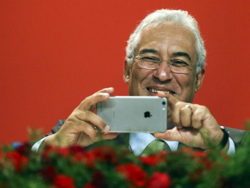 António Costa no Congresso do PS (LUSA)