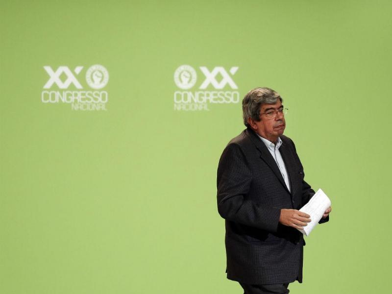 Ferro Rodrigues no Congresso do PS (LUSA)