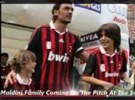 Christian, Daniel e Paolo Maldini