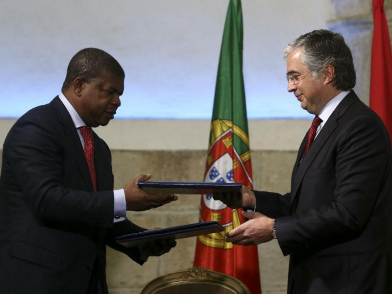 Acordo de cooperação entre Portugal e Angola (LUSA)