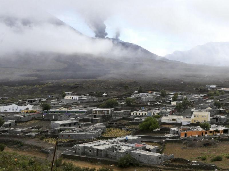 Vulcão da Ilha do Fogo, Cabo Verde (LUSA)