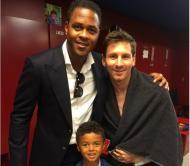 Patrick Kluivert, Messi e Shane Kluivert