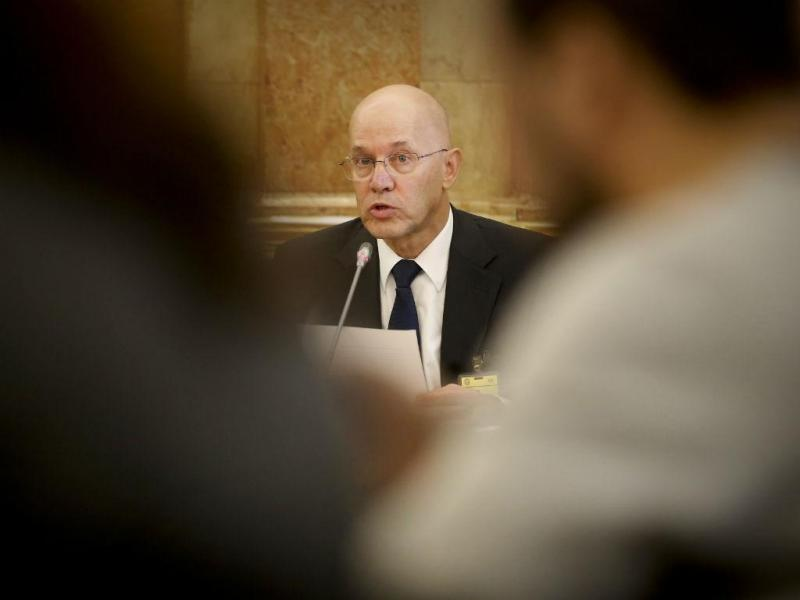 Vítor Bento ouvido na Comissão de Inquérito ao caso BES (MÁRIO CRUZ/LUSA)