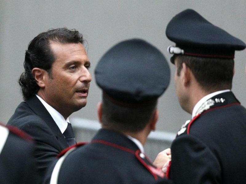 Francesco Schettino: capitão do Costa Concórdia (REUTERS)