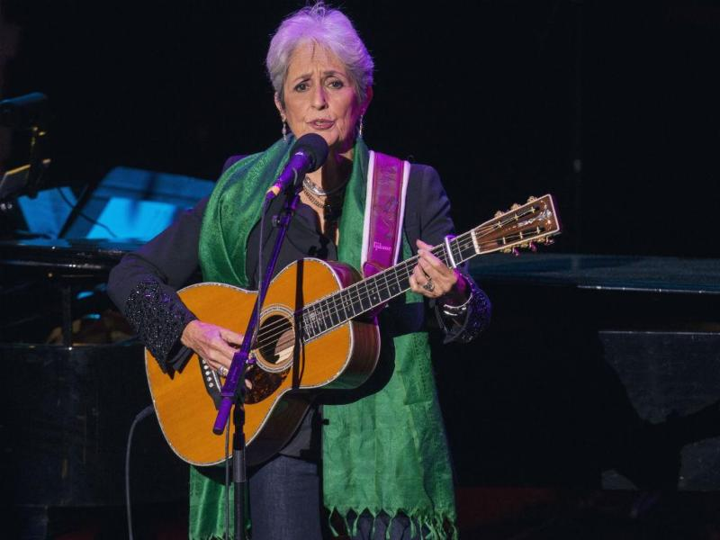 Joan Baez (REUTERS)