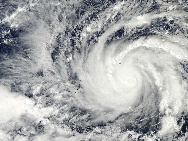 Tufão Hagupit (Reuters)