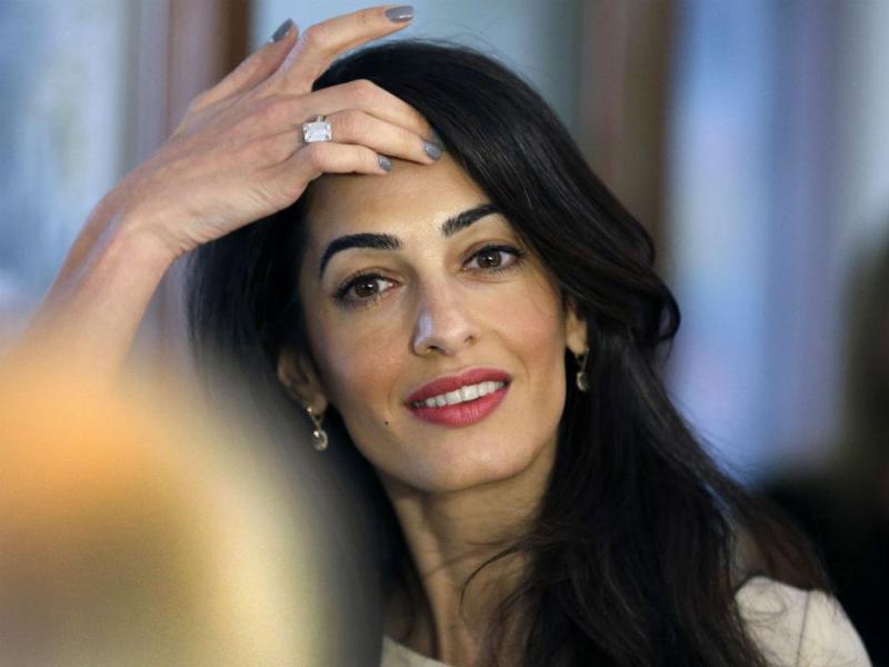 Amal Clooney (REUTERS)