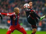 B. Munique-B. Leverkusen (REUTERS/ Michael Dalder)