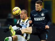 Inter-Udinese (REUTERS/ Alessandro Garofalo)
