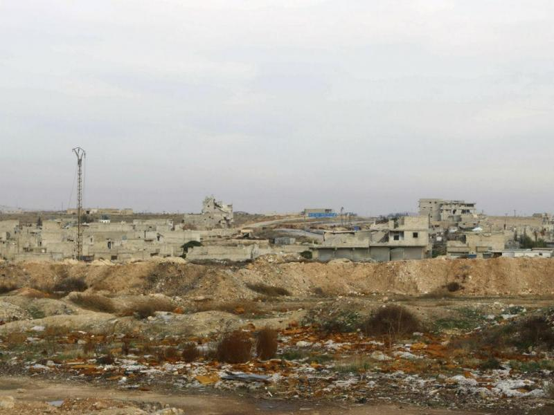 Aeroporto de Aleppo, na Síria