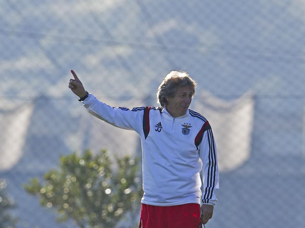 Treino do Benfica (Miguel A. Lopes/Lusa)