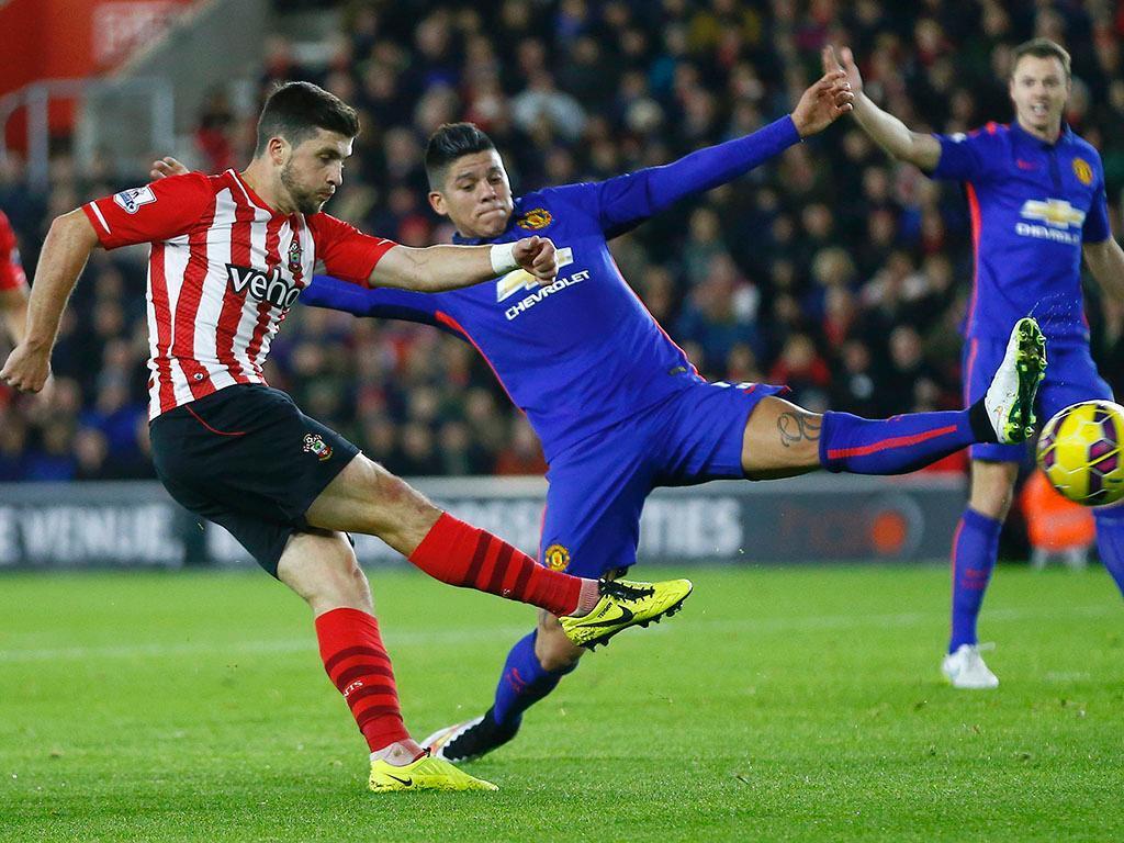 Southampton-Man United (REUTERS/ Andrew Winning)