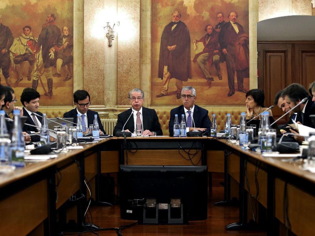 Ricardo Salgado no Parlamento [Foto: Lusa]