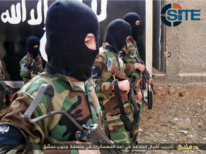 Campo de treino do Estado Islâmico para crianças