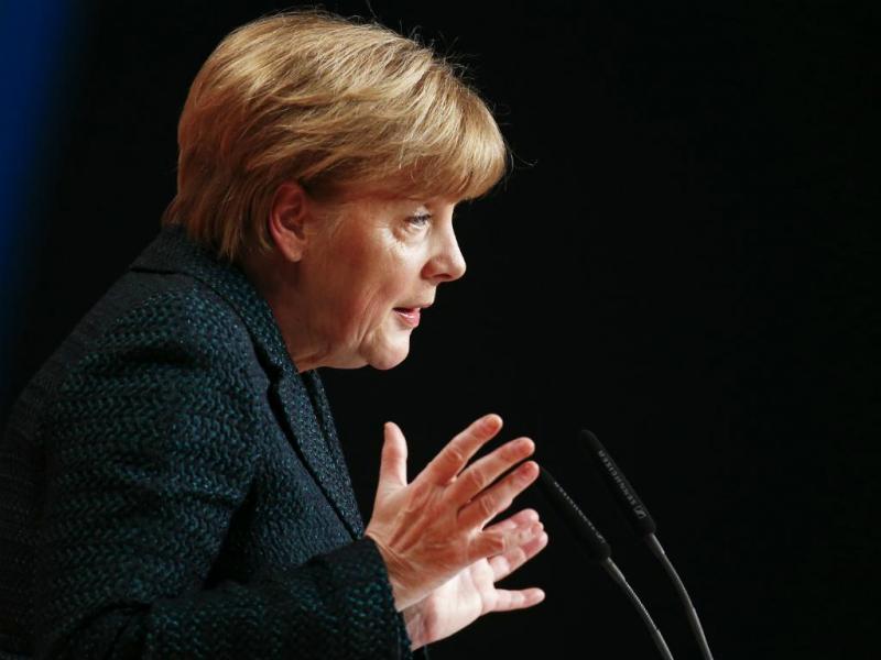 Angela Merkel (Reuters/ Kai Pfaffenbach)
