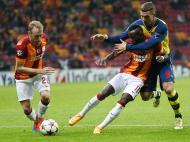 Galatasaray-Arsenal (EPA/ Tolga Bozoglu)