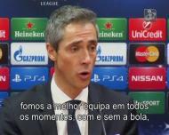 Paulo Sousa: «Fomos melhores em todos os momentos»