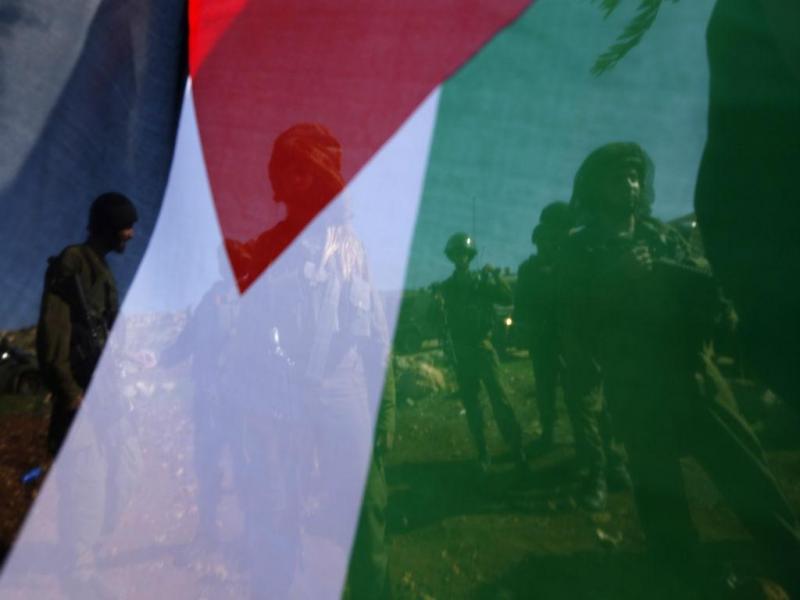 Ministro palestiniano nos confrontos com militares israelitas (REUTERS)
