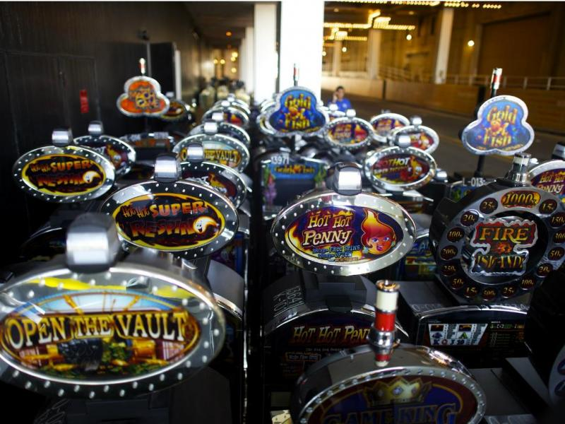 Slot Machines [Reuters]