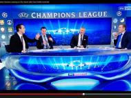 Quando Souness e Carragher não conseguem parar de rir, em direto na TV