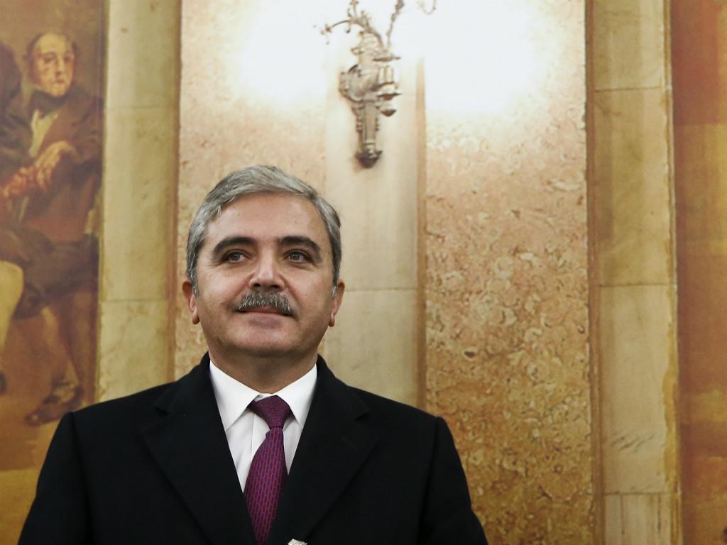 Ex-administrador financeiro do BES, Amílcar Morais Pires