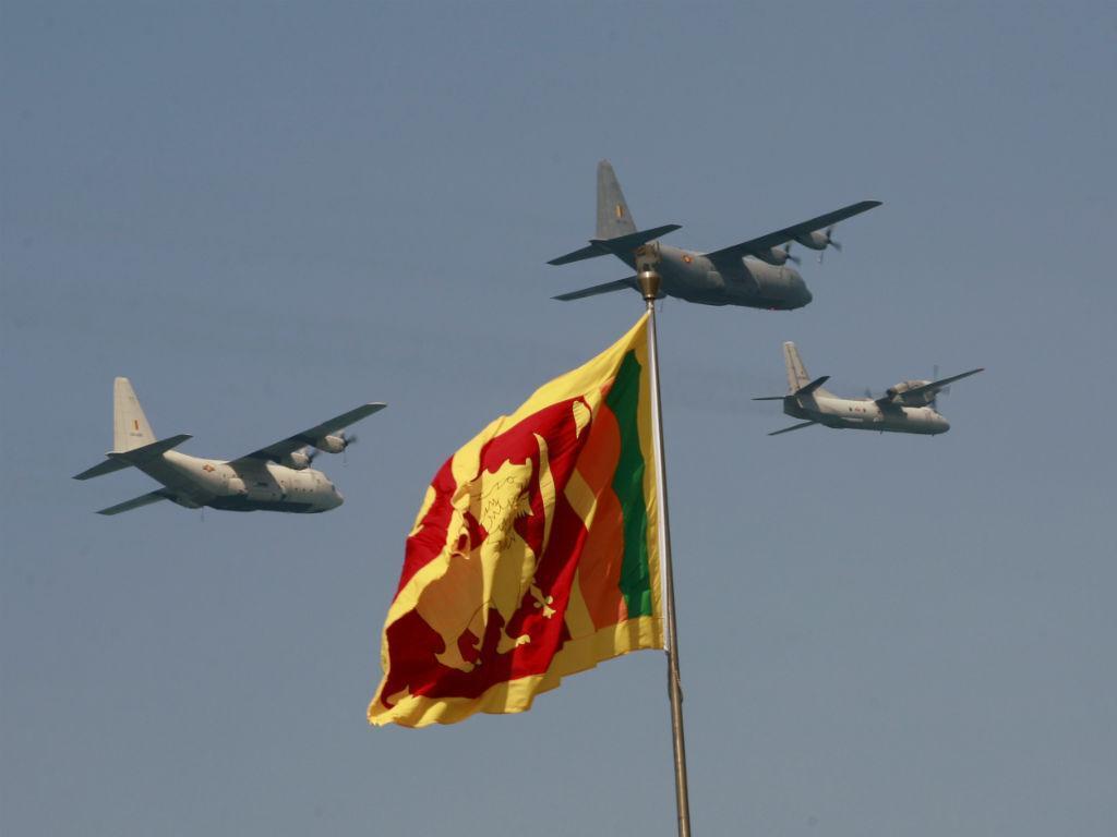Aeronaves da Força Aérea do Sri Lanka (REUTERS)