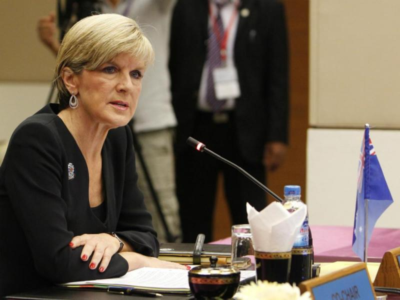 Julie Bishop [Reuters]