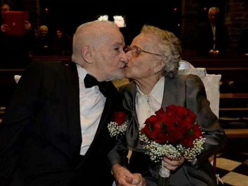 Ex-noivos reencontram-se no Facebook, 70 anos depois. E dão o nó