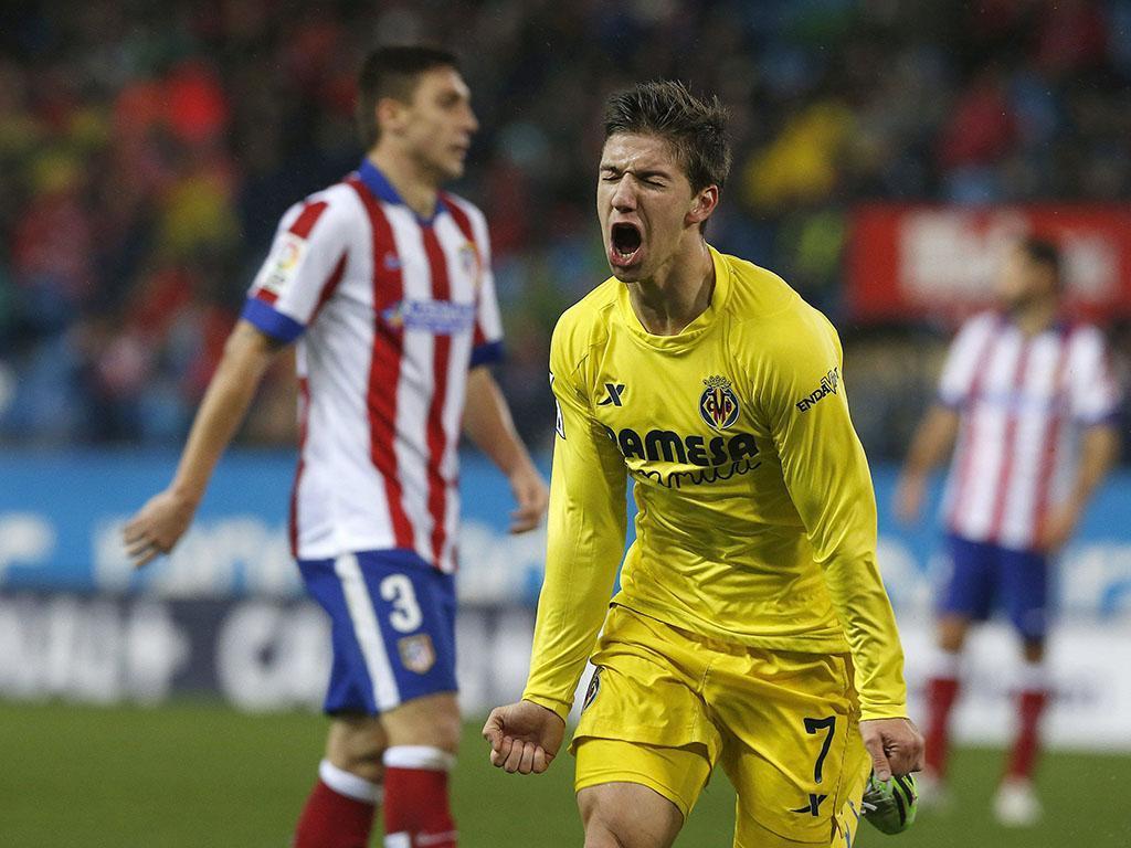 Atlético Madrid-Villareal (EPA/ Sergio Barrenechea)
