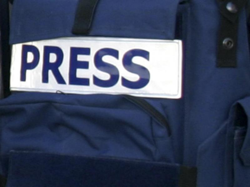 Jornalistas [Reuters]