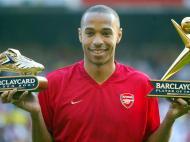 Thierry Henry melhor jogador e marcador da Premier League (REUTERS)
