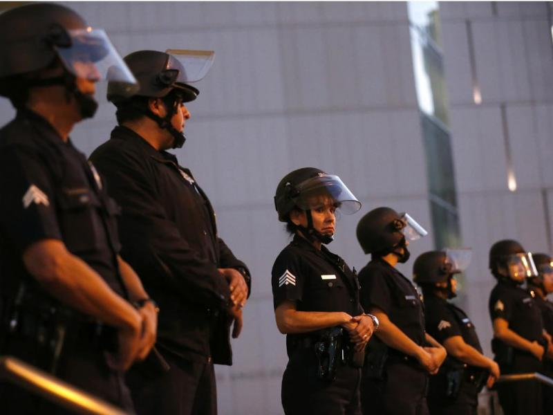 Polícia de Los Angeles [Reuters]