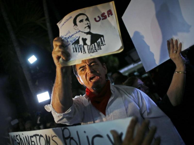 EUA e Cuba: as imagens do dia histórico