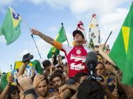 Gabriel Medina, campeão mundial de surf (EPA/KIRSTIN SCHOLTZ)