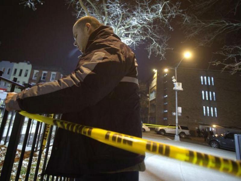 Dois polícias mortos em Nova Iorque [Foto: Reuters]