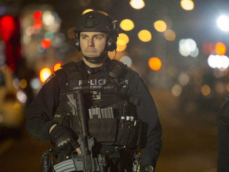 Dois polícias mortos em Nova Iorque [Foto: EPA]