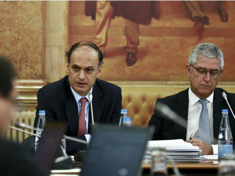 Joaquim Goes,  Comissão de Inquérito ao caso BES (ANTÓNIO COTRIM/LUSA)
