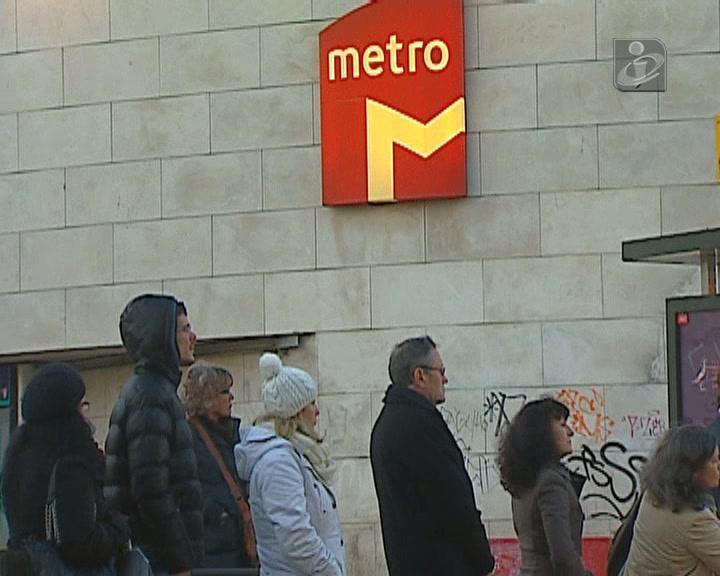 Nova greve afeta utentes do Metro