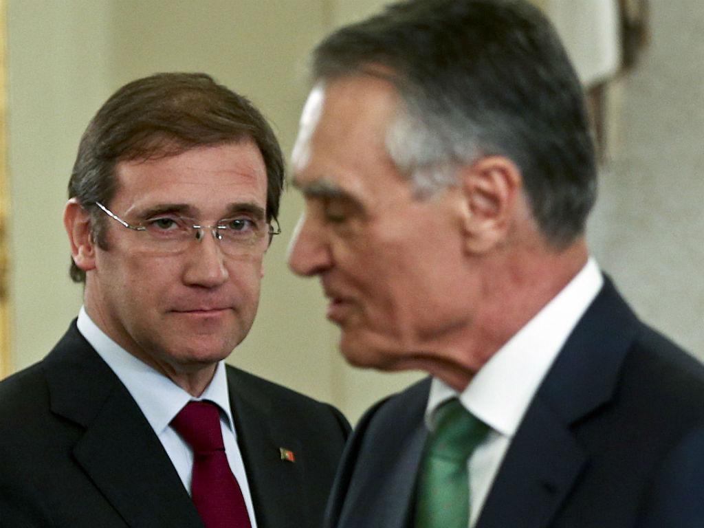 Governo deseja boas festas a Cavaco Silva (LUSA)