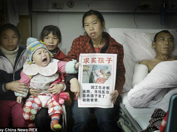 Ni Qiong tentou vender a filha para salvar o marido