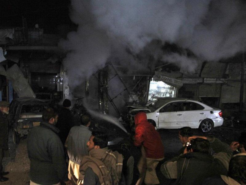 Atentado no Paquistão na noite de Natal (Reuters)