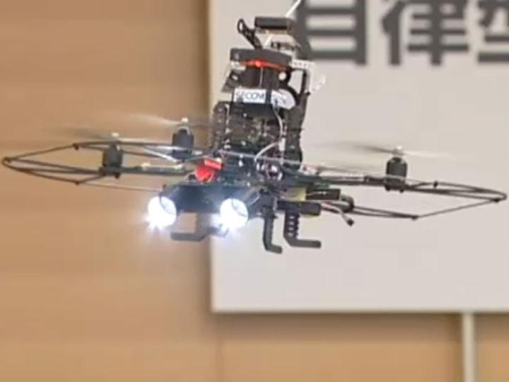 Drone faz segurança nos Jogos Olímpicos (DR)