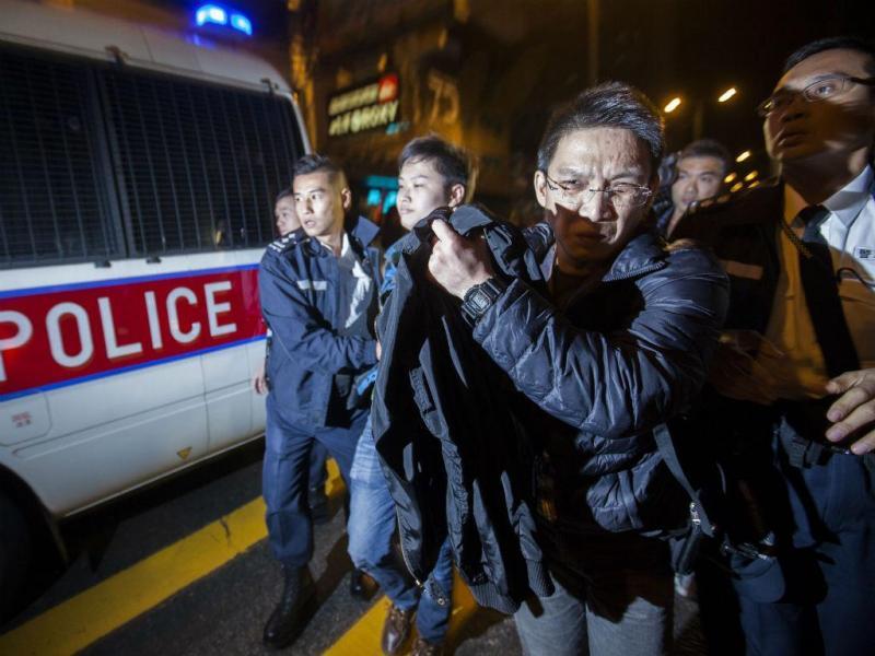 Mais protestos em Hong Kong [Foto: EPA]