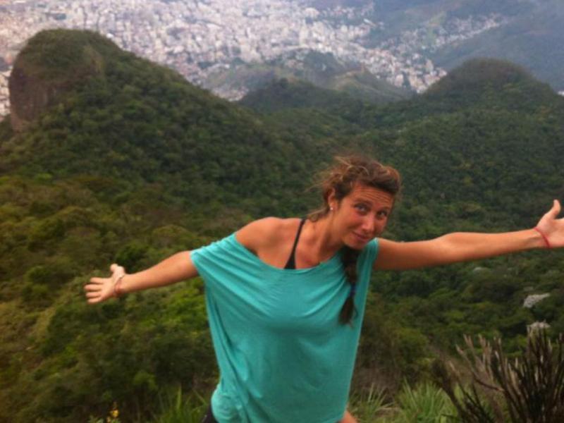 Turista italiana Gaia Molinari encontrada morta no Brasil [Facebook]