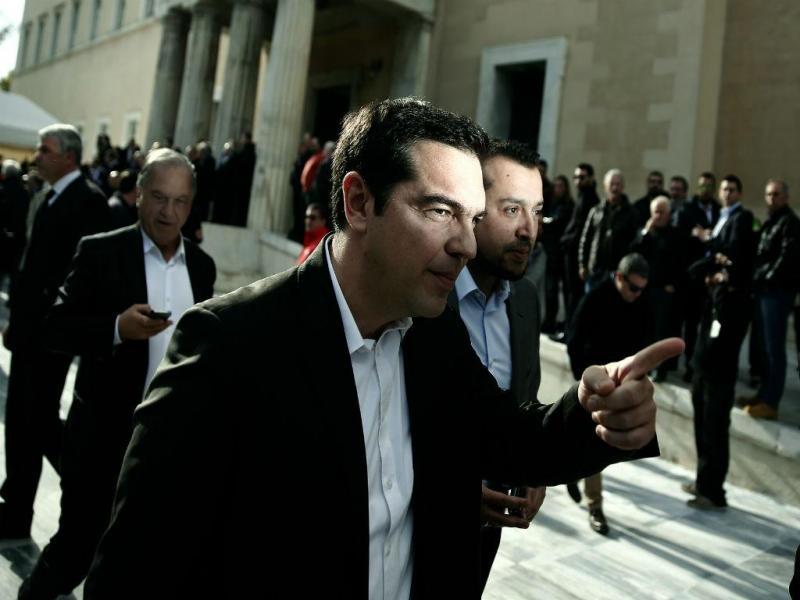 Alexis Tsipras, líder do Syriza (REUTERS)