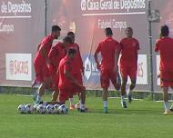 Benfica: Eliseu e Luisão são os que estão mais próximos de regressar